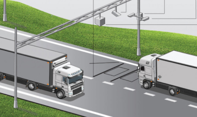 Система автоматического весогабаритного контроля